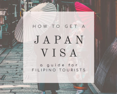 how to get a Japan tourist visa