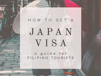 How to get a Japan tourist visa for Filipinos – A First Timer's Guide