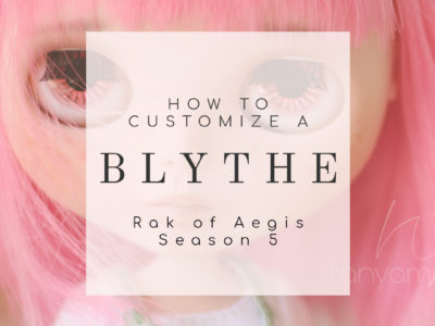 A Beginner's Guide on How To Customize a Blythe Doll