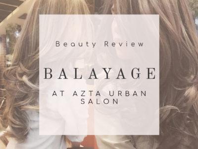 Balayage at Azta Urban Salon