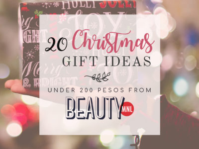 20 Christmas Gift Ideas Under ₱200 – Fab finds from BeautyMNL